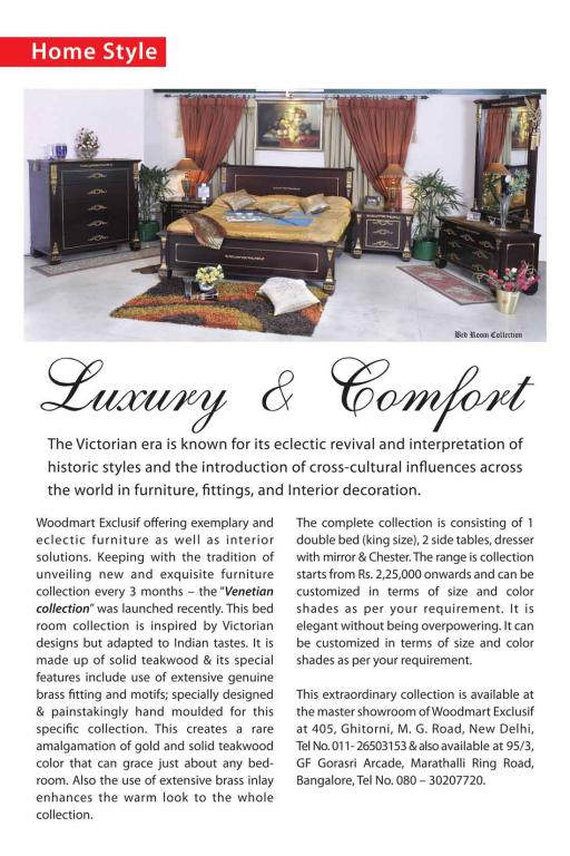 Woodmart LUXURY & COMFORT