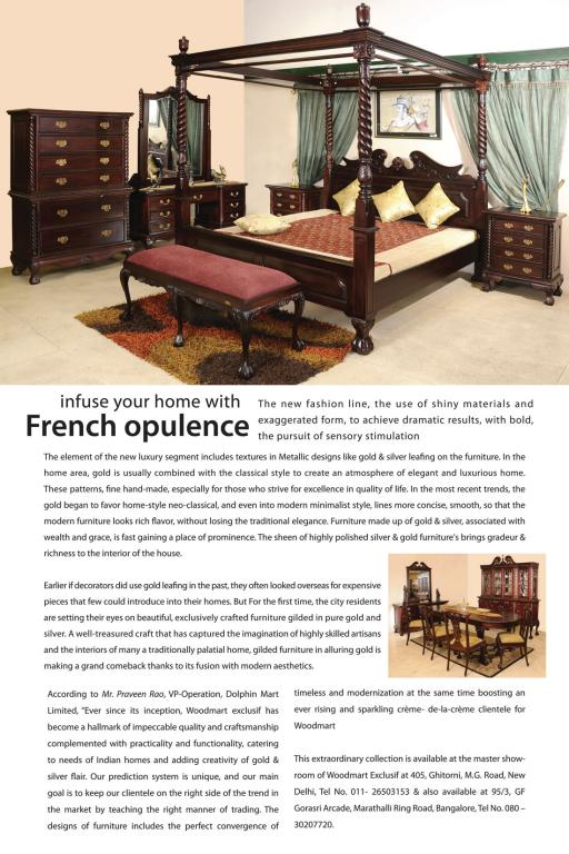 Woodmart FRENCH OPULENCE